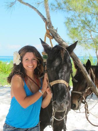 Rancho Baaxal: me with my horse.