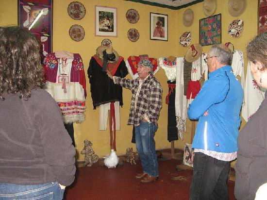 Museo de Trajes Regionales: Sr. Castro's Main Traje Room
