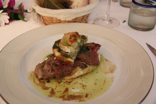 The Chef's Table by La Villa Mahana: lamb