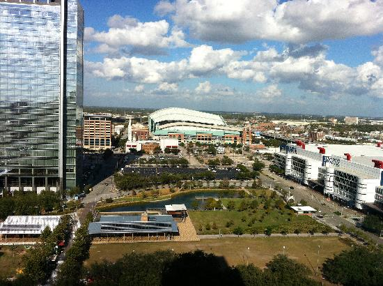 Hilton Americas - Houston: View from our Room #18033.