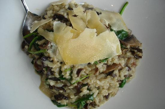 Buderim Tavern: Mushroom risotto