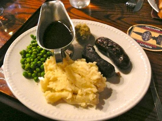 The Old Queen's Head: The Special!  - Yummy! Sausages were tasty and light.