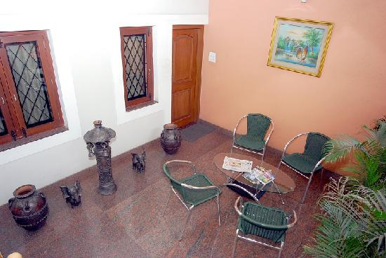 Havilla Bed & Breakfast : Private Balcony