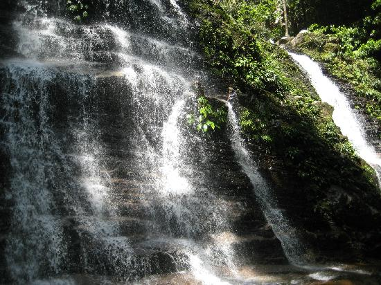 Kubah National Park: waterfall