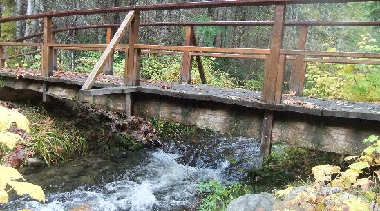 Nanaimo, Kanada: foot bridge