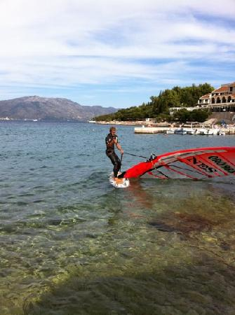 Oreb Club Sailing & Windsurfing School Center : Ivan Oreb, Korčula - summer 2011
