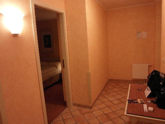 SI-Suites: Eingangsbereich