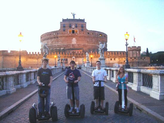 CSTRents - Rome Segway PT Authorized Tour