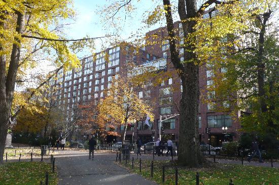 Next To The Public Garden Picture Of Four Seasons Hotel Boston Boston Tripadvisor