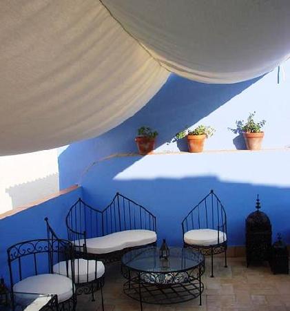 Posada San Fernando: Terraza