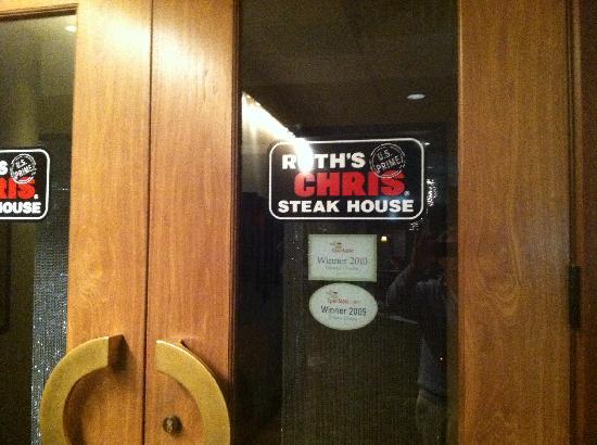 Ruth's Chris Steak House: great steak house