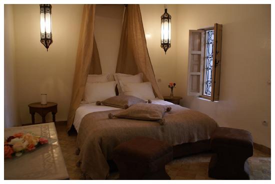 Riad les Orangers d'Alilia Marrakech : Chambre Salma