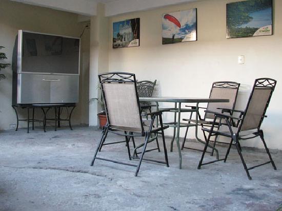 Hotel Villa Florencia Centro: patio