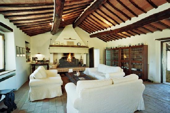 Roccia di Cerbaia Country Resort: living-room