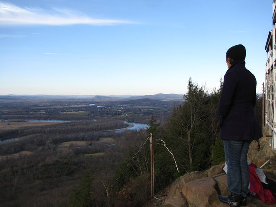 View from the top of Mount Holyoke