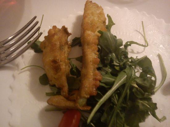 Il Casaletto: un terzo del carciofo fritto