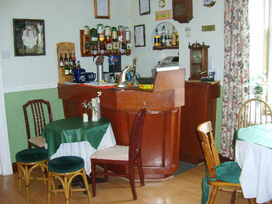 The Merchants House: Our cosy well-stocked bar