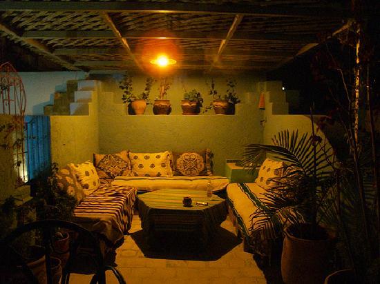 Dar Gabriel: top terrace summers evening