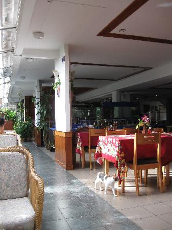 Karon View Resort : Вполне себе уютная терраса дял покушать и отдохнуть.