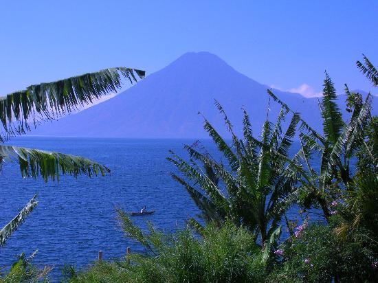 Villa Sumaya: view of one of the volcanoes from villa sumaya