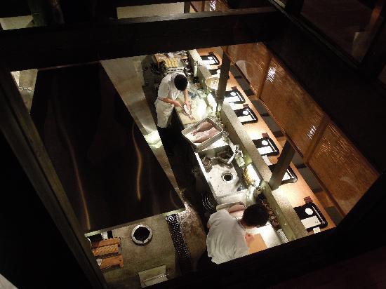 Gion Karyo: 調理場