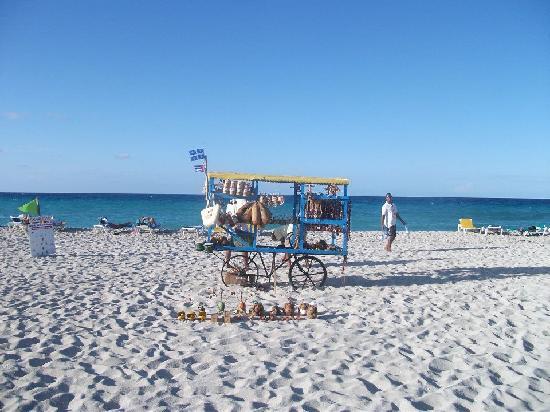 BelleVue Playa Caleta: Vendor on the beach