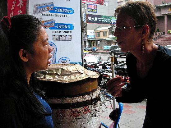 Live As A Local: So although we couldn't communicate verbally without a translator…we tried!