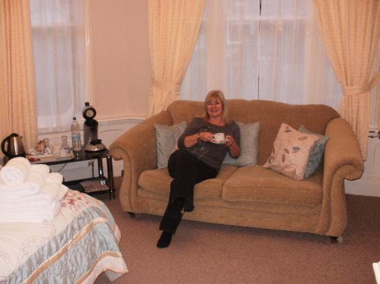 Eastbourne Guest House: Very relaxing :-)