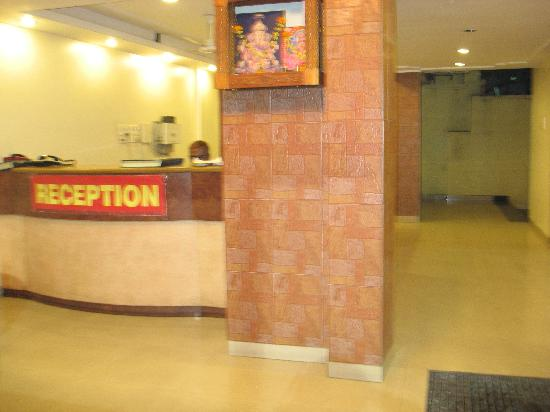 Hotel Rajdeep: Reception