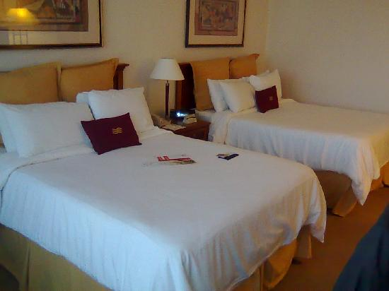 Crowne Plaza Santiago - The bed