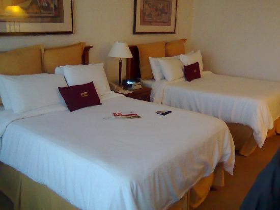Crowne Plaza Hotel Santiago : Crowne Plaza Santiago - The bed