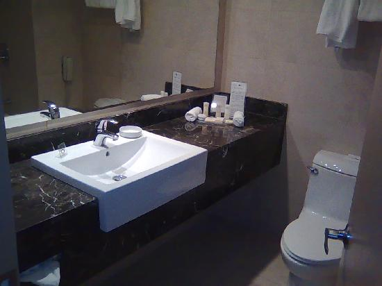 Crowne Plaza Santiago - The bathroom