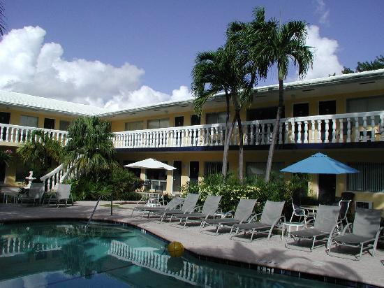 Cheston House Gay Resort : Pool and Hotel