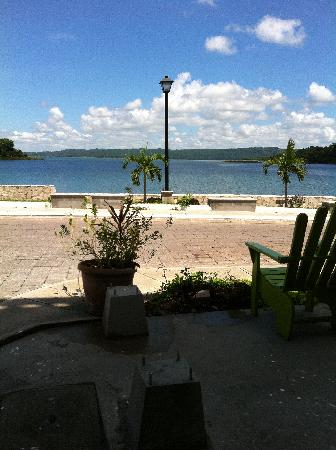 Hotel Casa Amelia: vista del lago peten itza