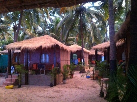 Om Sai Beach Huts: awesome