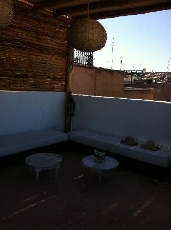 Riad les Orangers d'Alilia Marrakech : La terrasse