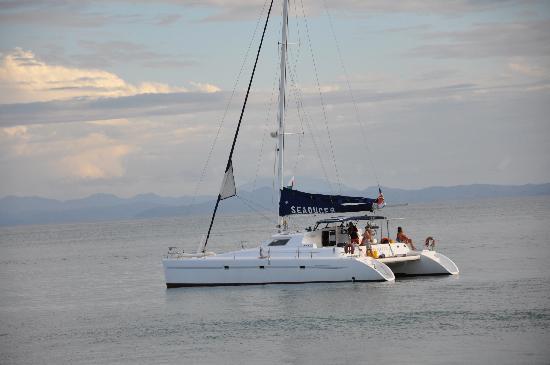 Villa Valiha: il catamarano della villa a disposizione