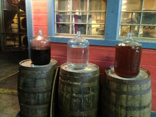 Old New Orleans Rum Distillery: Rum in its Different Stages