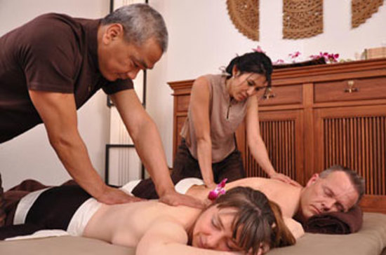 Цюрих, Швейцария: Asia-Relax Couple Massage / Paarmassage