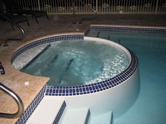 Pool at night - wonderful and warm