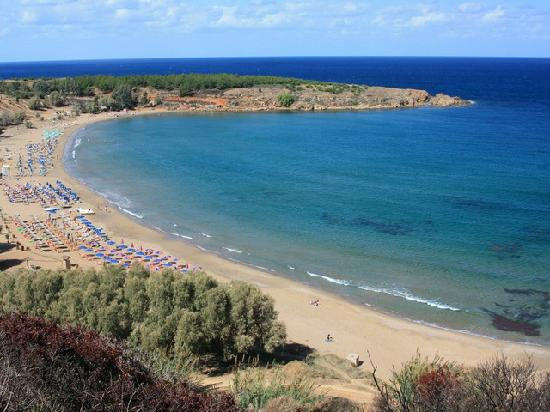 Chrissi Akti, Hellas: The beach close by