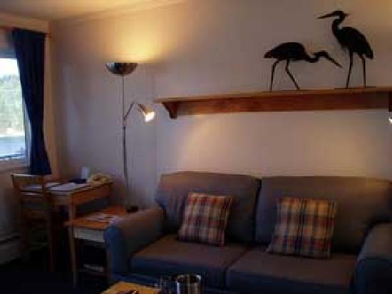 بوكانير إن: Relaxing living rooms