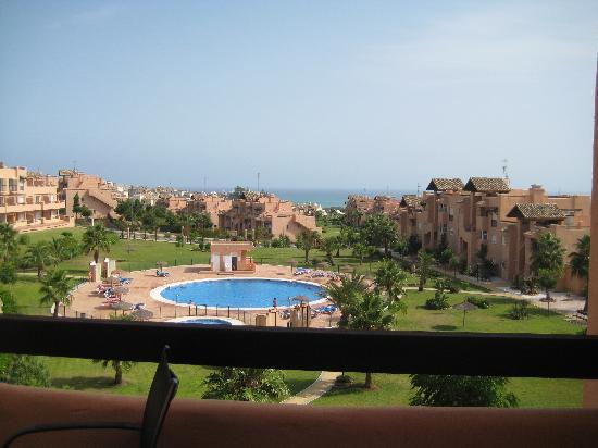 Casares Del Sol : vue du balcon