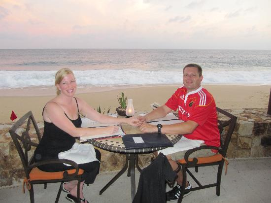 Grand Solmar Land's End Resort & Spa: Dinner on our first nigh