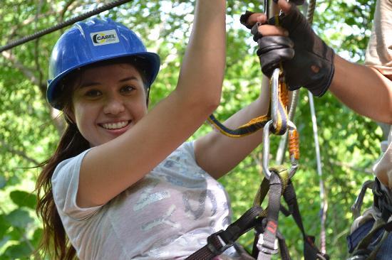 Veraneando Adventure Zipline Tour and River Ride Tour: Equipment