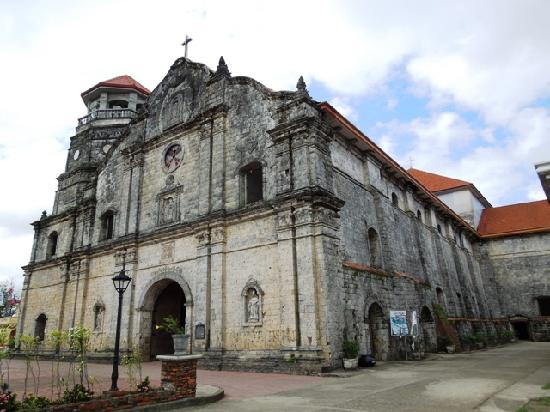 Roxas City, Filippijnen: Santa Monica Parish Church in Pan-ay, Capiz