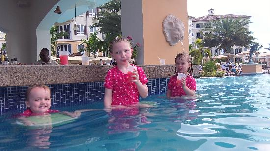 Beaches Turks and Caicos Resort Villages and Spa: Spent all our time in the pool