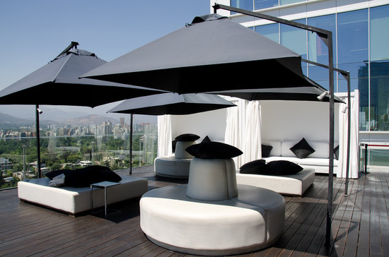 W Santiago: Rooftop w/ seating