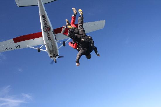 The Skydive Zone: Freefalling