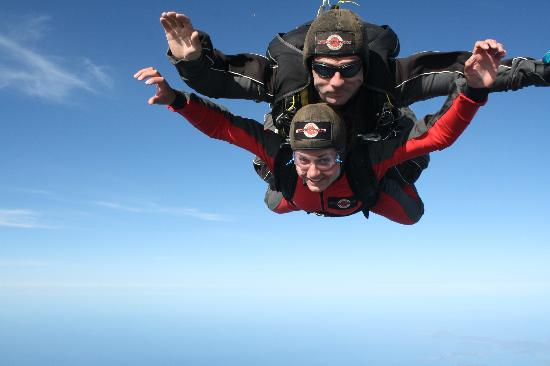 The Skydive Zone: Frefalling